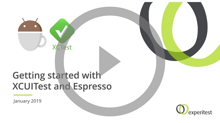 Getting started with XCUITest and Espresso