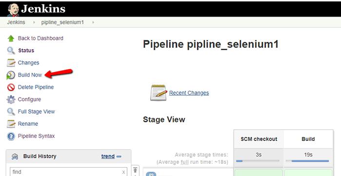 pipeline - jenkins pipeline