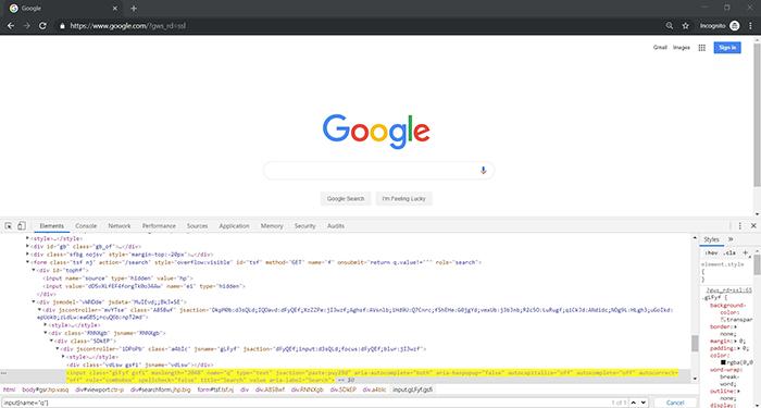 TestNG framework google