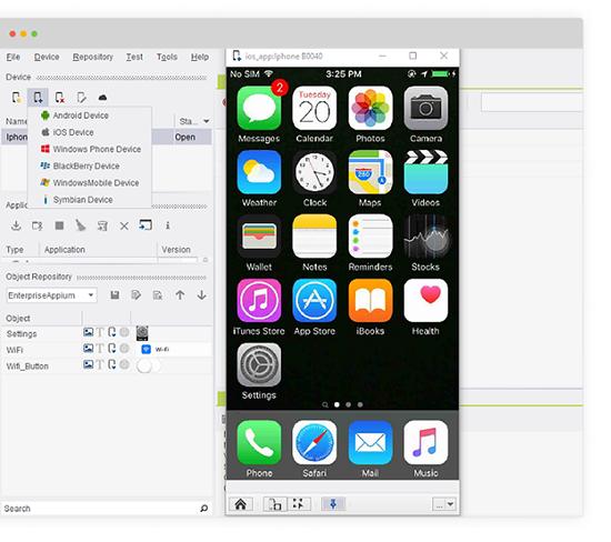Plug & Play mobile testing