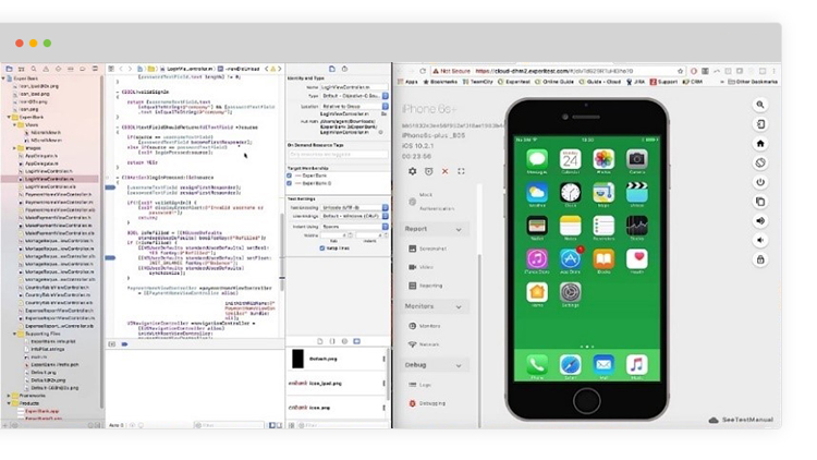 Develop and debug native & web apps