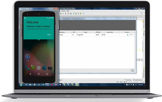 <h2>Android test automation - Native support for Android emulators</h2>